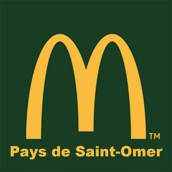 Logo mcdo pays de saint omer